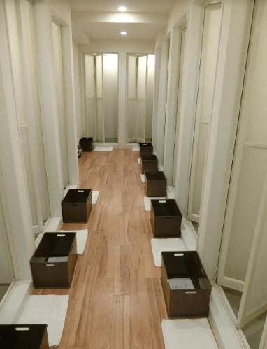 ロイブ自由が丘シャワー室入口